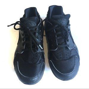 Nike Shoes - Nike Air Huarache Women's Sneakers in Black/Black